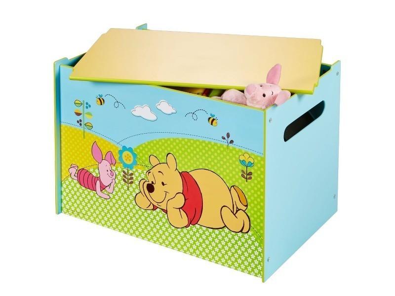 Coffre à jouets winnie l\'ourson - Vente de Chambre complète - Conforama