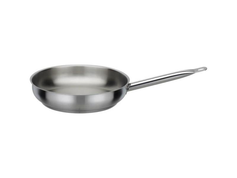 Gsw 975285 - poele le chef pro inox 1810 brossé – 28cm
