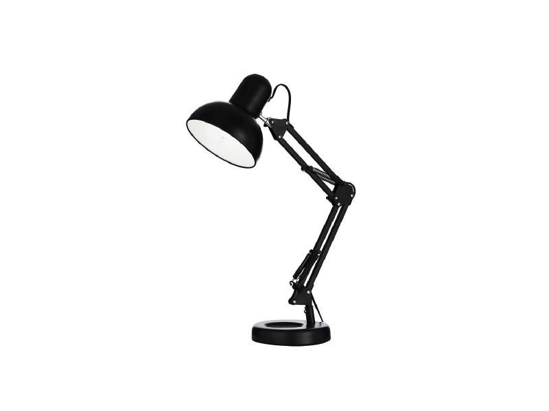 Lampe De Bureau Articulee Kelly Noire En Metal Vente De Keria