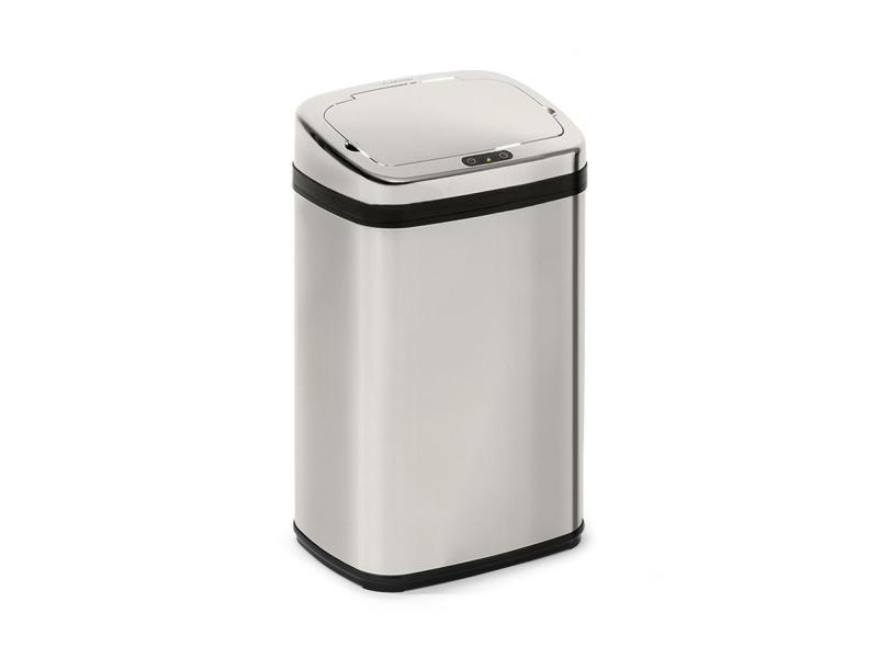Klarstein cleansmann 30 poubelle 30 litres avec capteur - couvercle abs chromé KG15-Cleansmann30l