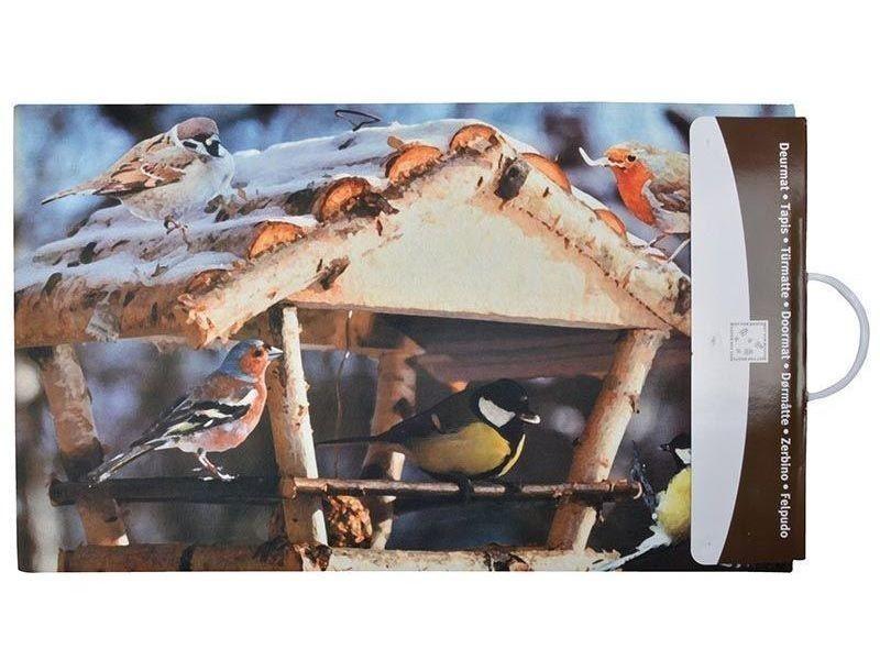 paillasson d co en caoutchouc recycl int rieur ext rieur mangeoire oiseaux vente de. Black Bedroom Furniture Sets. Home Design Ideas