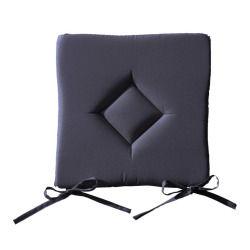 Galette chaise 40x40cm canon fusil