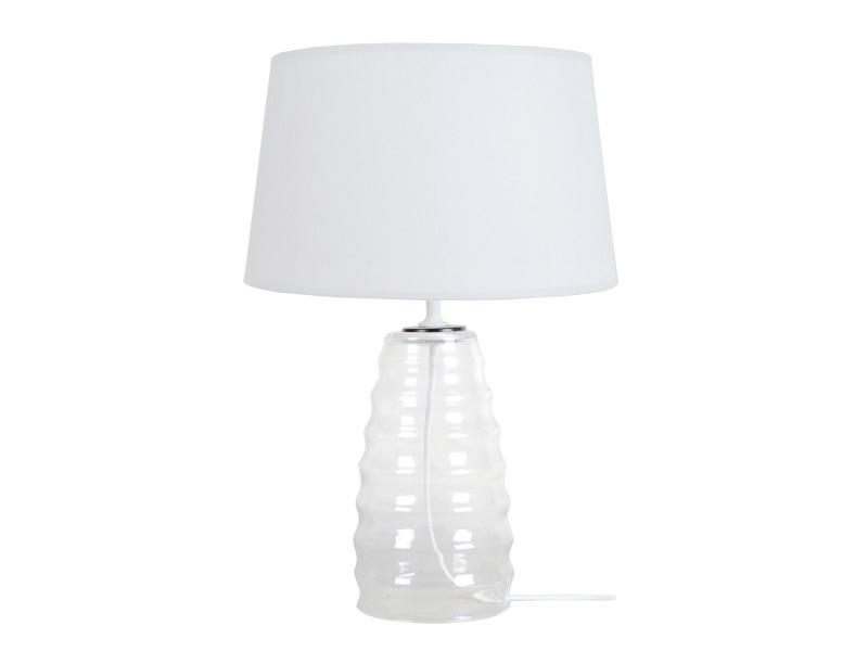 Tosel Lampe A Poser1 Lumières ; Transparent Symphonie; Vente kiuXPZOT