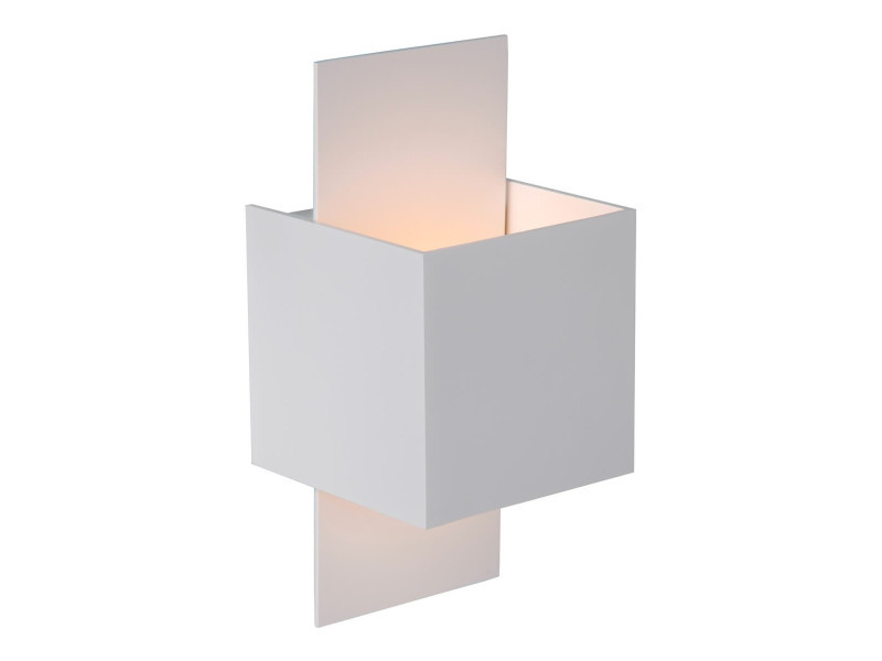 Applique design cube blanc arthur lp 35207917 vente de lampea