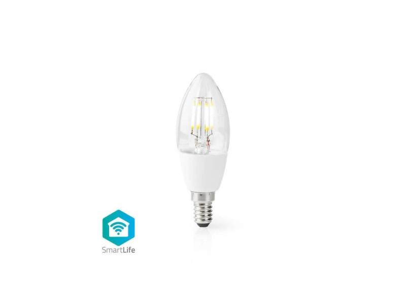 Ampoule led intelligente wi-fi - e14 - c37 - 5 w - 400 lm - blanc NED5412810320455