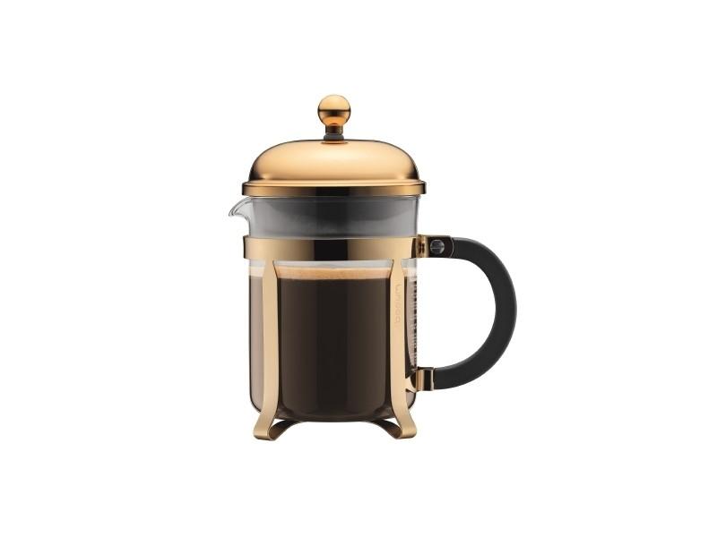 Bodum chambord® cafetière à piston, 4 tasses, 0.5 l, acier inox 11813-17