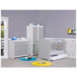 Chambre complète bébé : ayez le choix des coloris avec Conforama