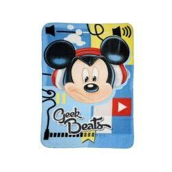 Mickey plaid couverture polaire 100 x 140 cm geek beats