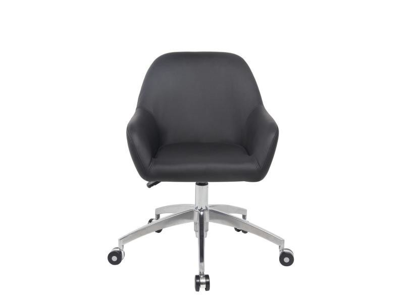 poli Kayelles capa de bureau piétement chaise alu design IYbf6gv7my