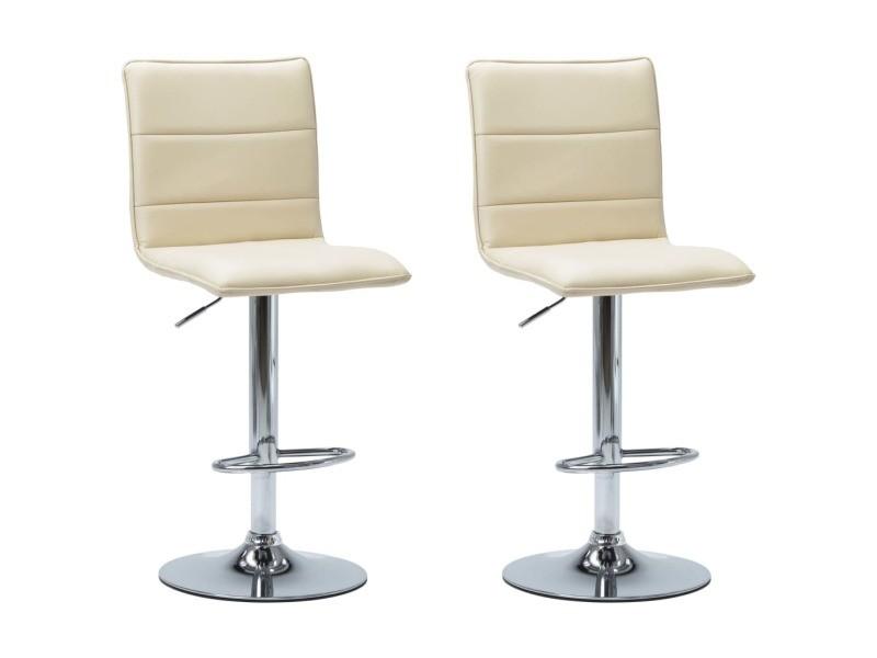 Icaverne tabourets de bar reference chaises de bar 2 pcs