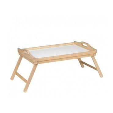 plateau petit-déjeuner au lit en bois pliable - vente de assiette