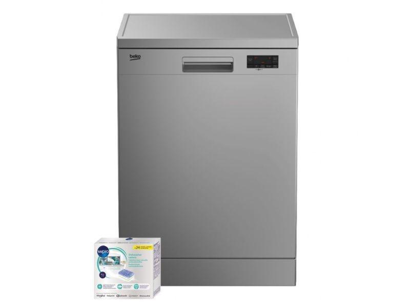 Lave vaisselle posable inox 47db a+ 13 couverts 60cm moteur à induction