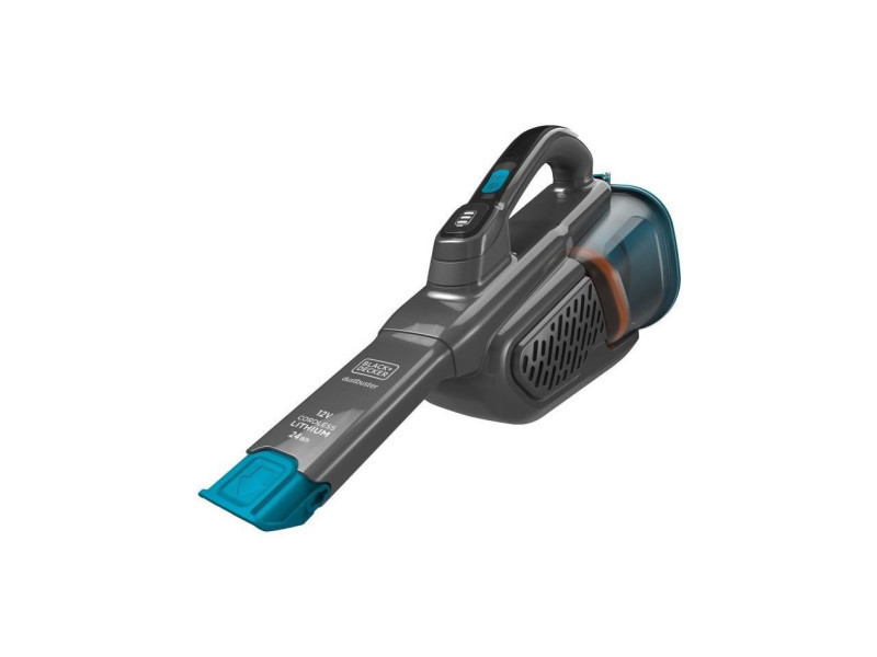 Black+decker bhhv320b-qw - aspirateur a main - dustbuster lithium 12v - 2 vitesses - autonomie 25min - bleu AUC5035048712733