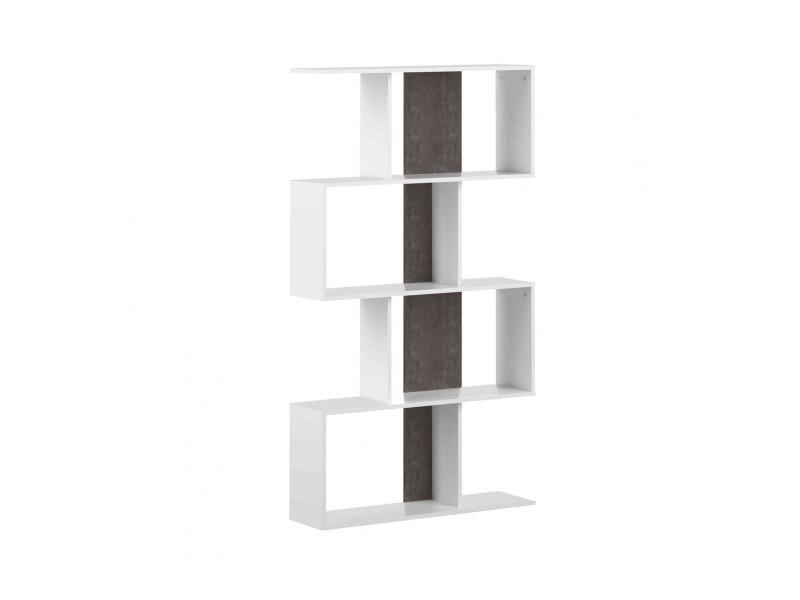 en blanc et de dr6018 Bibliothèque béton bois Vente thCrsxBdoQ