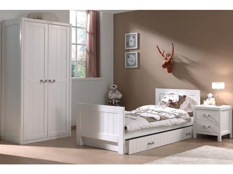 Ensemble 4 pièces pour chambre enfant moderne avec lit ...