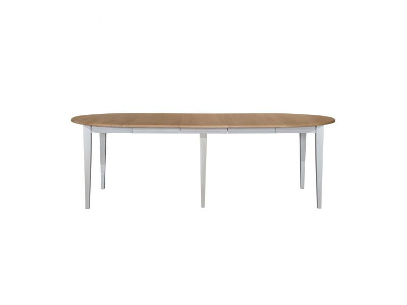 Table Ronde A Rallonge.Ensemble Table Ronde Victoria 6 Pieds Fuseau 115 Cm 3