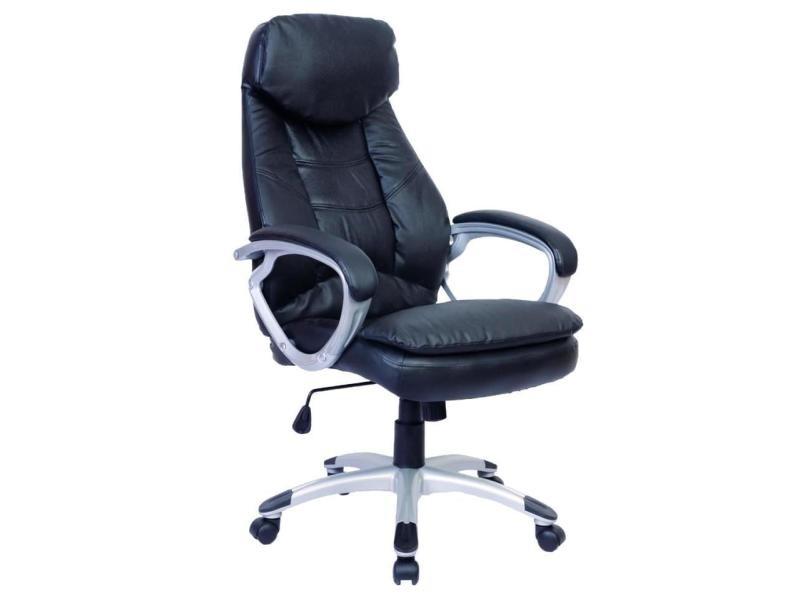 stunning fauteuil de bureau chaise sige noir ergonomique classique helloshop vente de fauteuil. Black Bedroom Furniture Sets. Home Design Ideas