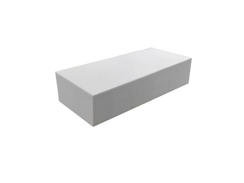 Matelas pour tous | plaque de mousse 30 kg/m³ 60x120 cm | epaisseur 20 cm 3DE.PE.30.20.0612