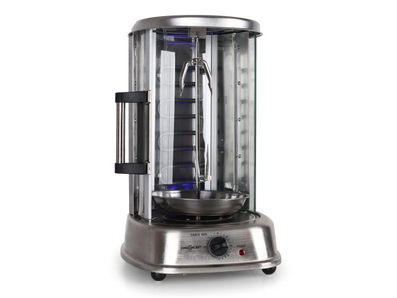 arrive moderne et élégant à la mode États Unis Oneconcept kebab master pro grill vertical électrique ...