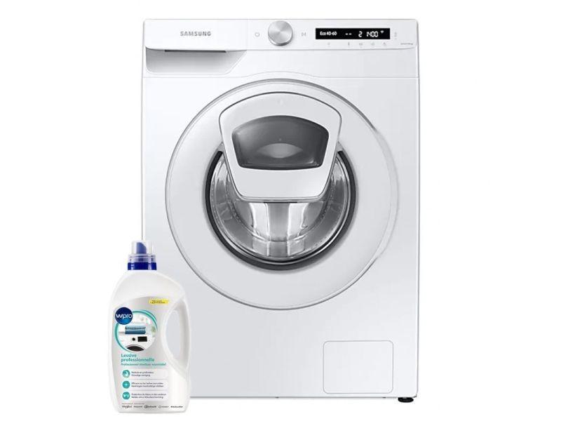 Lave-linge frontal 9kg a+++ 1400trs/min addwash wi-fi machine à laver hublot