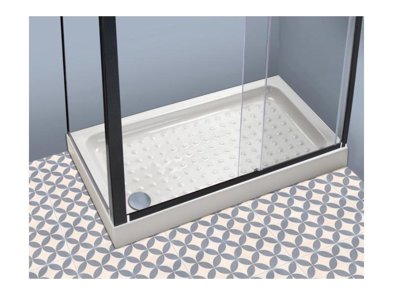 receveur de douche en gr s haut 120x80 mazama vente de evidence conforama. Black Bedroom Furniture Sets. Home Design Ideas