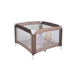Parc bébé pliant / parc pliable pour bébé play marron