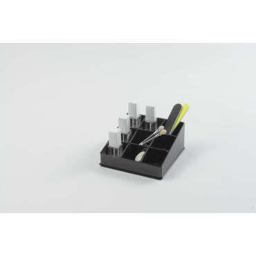 porte vernis ongles coloris noir vente de compactor conforama. Black Bedroom Furniture Sets. Home Design Ideas