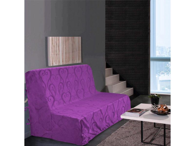 Dimensions Taupe Best Interior Housse de clic clac Amour 200x200cm