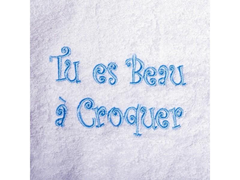 9f9664129f4ce Peignoir bébé brodé beau à croquer - 12 mois - Vente de HOME ...