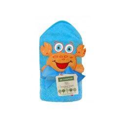 Cape de bain bébé à capuche