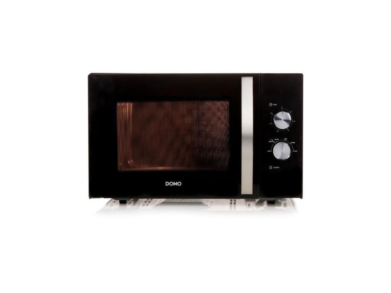 Domo do2431-micro-ondes monofonction noir-30 l-900 w-pose libre CDP-DO2431