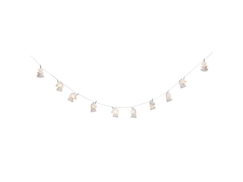 Guirlande lumineuse 10 led licorne