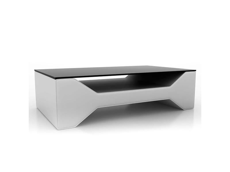 Karya - table basse design blanche