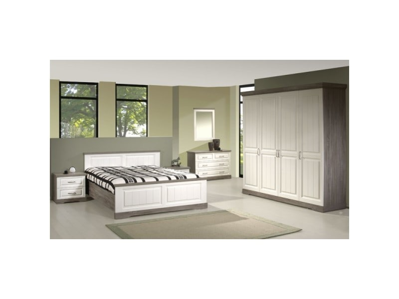 Chambre adulte compl te 160 200 tiva l 160 x l 200 for Chambre adulte soldes