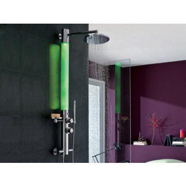 Colonne de douche ozone hydro thermo lumineuse vente - Vente colonne de douche ...