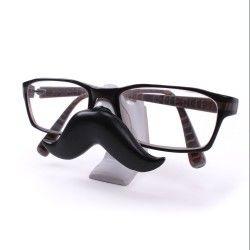 Support pour lunettes forme moustache