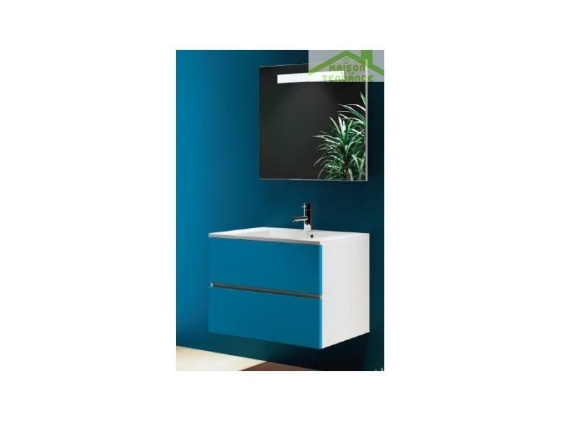 Ensemble meuble & lavabo riho cambio sentito set 03 60x48x h 57 cm - bois laqué brillant FSI060Z01DDDS03
