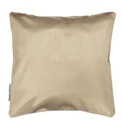 Housse de coussin polyester shantung uni shana lin 40 x 40 cm