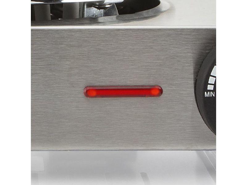Icaverne - plaques chauffantes selection double plaque de cuisson tristar 2500 w