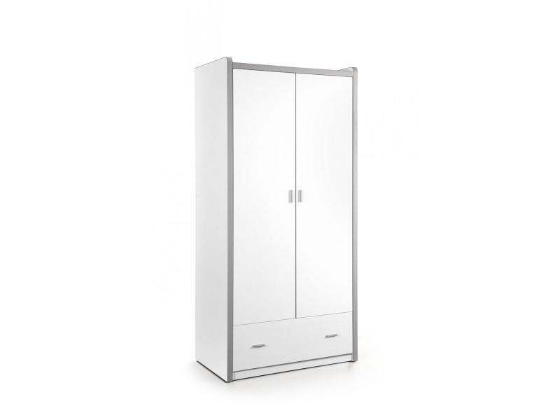 Vipack bonny armoire 2 portes blanc BONKL2214