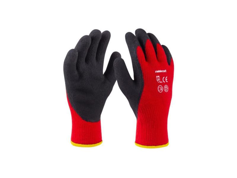Gants hiver t10 - acryl - rouge MEI4004849003167