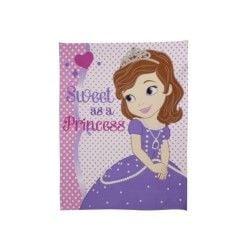 Princesse sofia couverture polaire amulet 120 x 150 cm