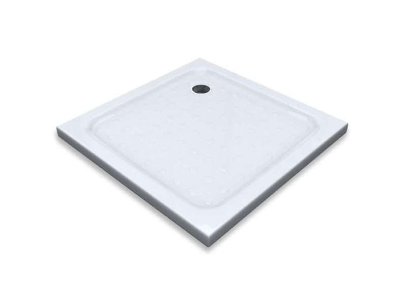 receveur bac douche plat antid rapant 80 x 80 cm blanc vente de oliphant conforama. Black Bedroom Furniture Sets. Home Design Ideas