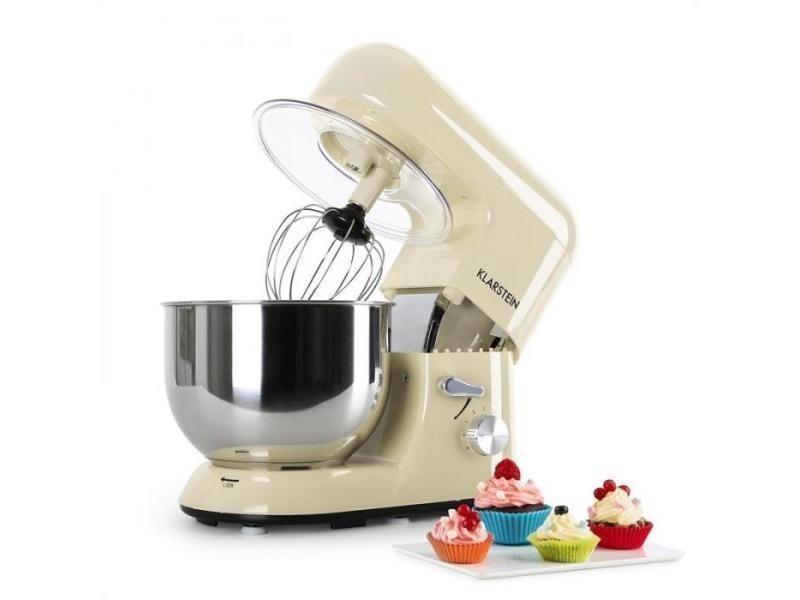 Bella morena robot de cuisine multifonction 1200w 5 litres -crème