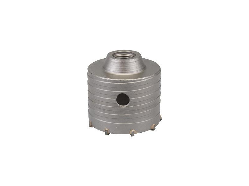 Scie trépan carbure pour perforateur sds plus diametre 30 à 150mm 150mm