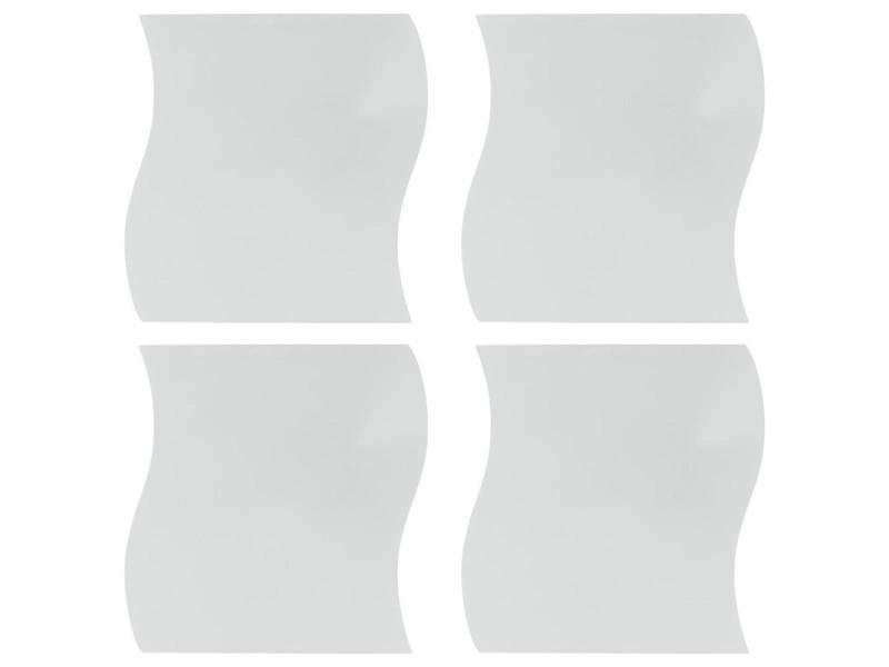 BESPORTBLE 9 pcs Miroir Autocollant Mural imperm/éable Auto-adh/ésif Miroir Non Toxique Miroir Sticker Mural Autocollant Miroir Autocollant pour Salle de Bain Toilettes Salle de Bains