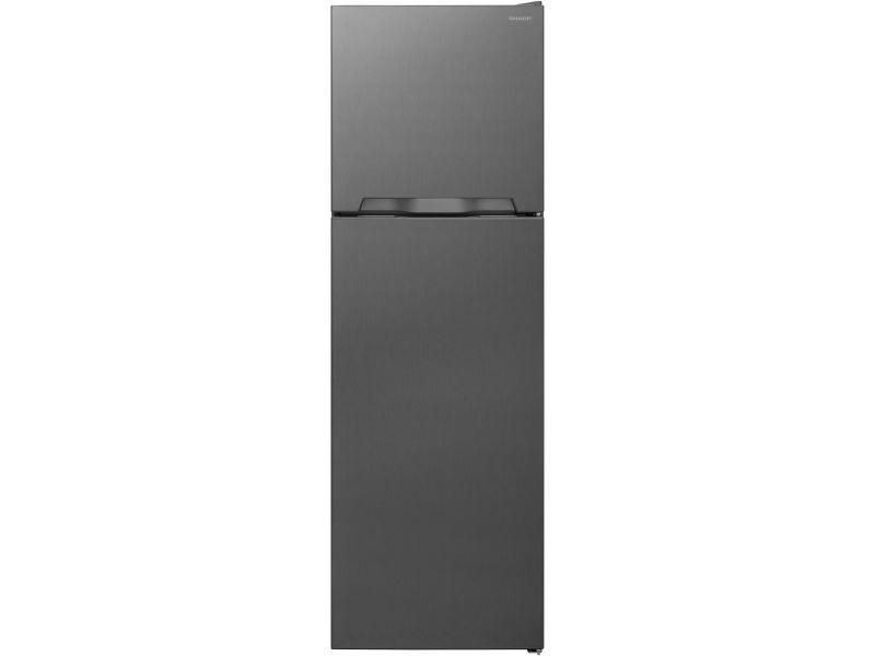 Réfrigérateur 2 portes 250l froid ventilé sharp 54cm a+, sjta 03 itxl 1