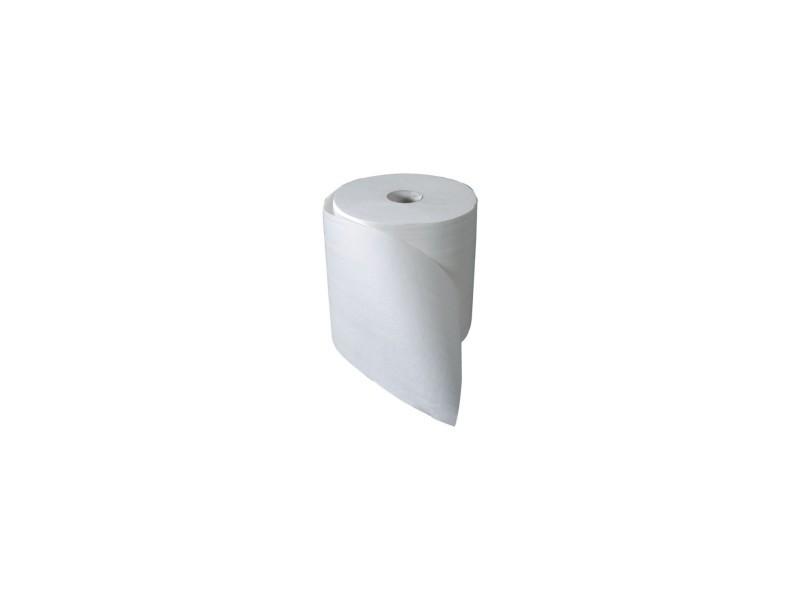 Bobine ouate 1000 formats blanche 2 plis colles 23.1 x 23 cms HEX-14289-BC