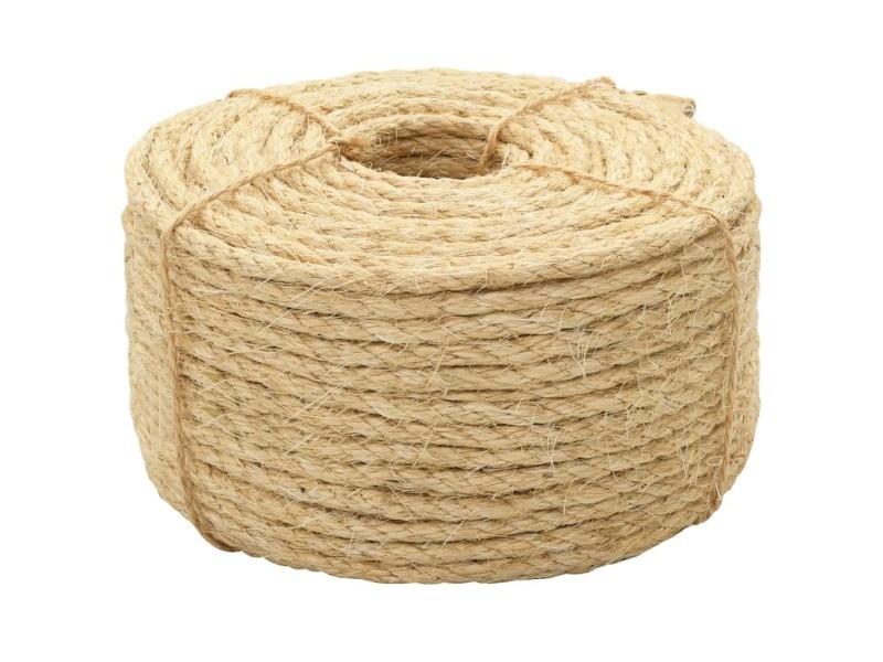 Chic chaînes, câbles et cordes collection amsterdam corde 100 % en sisal 10 mm 250 m
