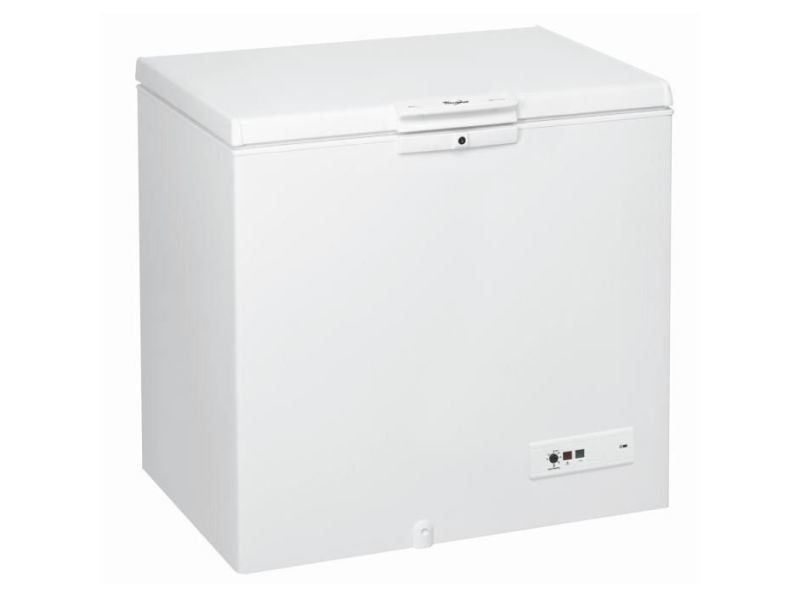 Congélateur coffre 251l froid statique whirlpool 101cm a+, whi8003437164965 WHI8003437164965